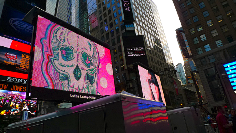 Lü†hårt • Times Square Billboards • 2012